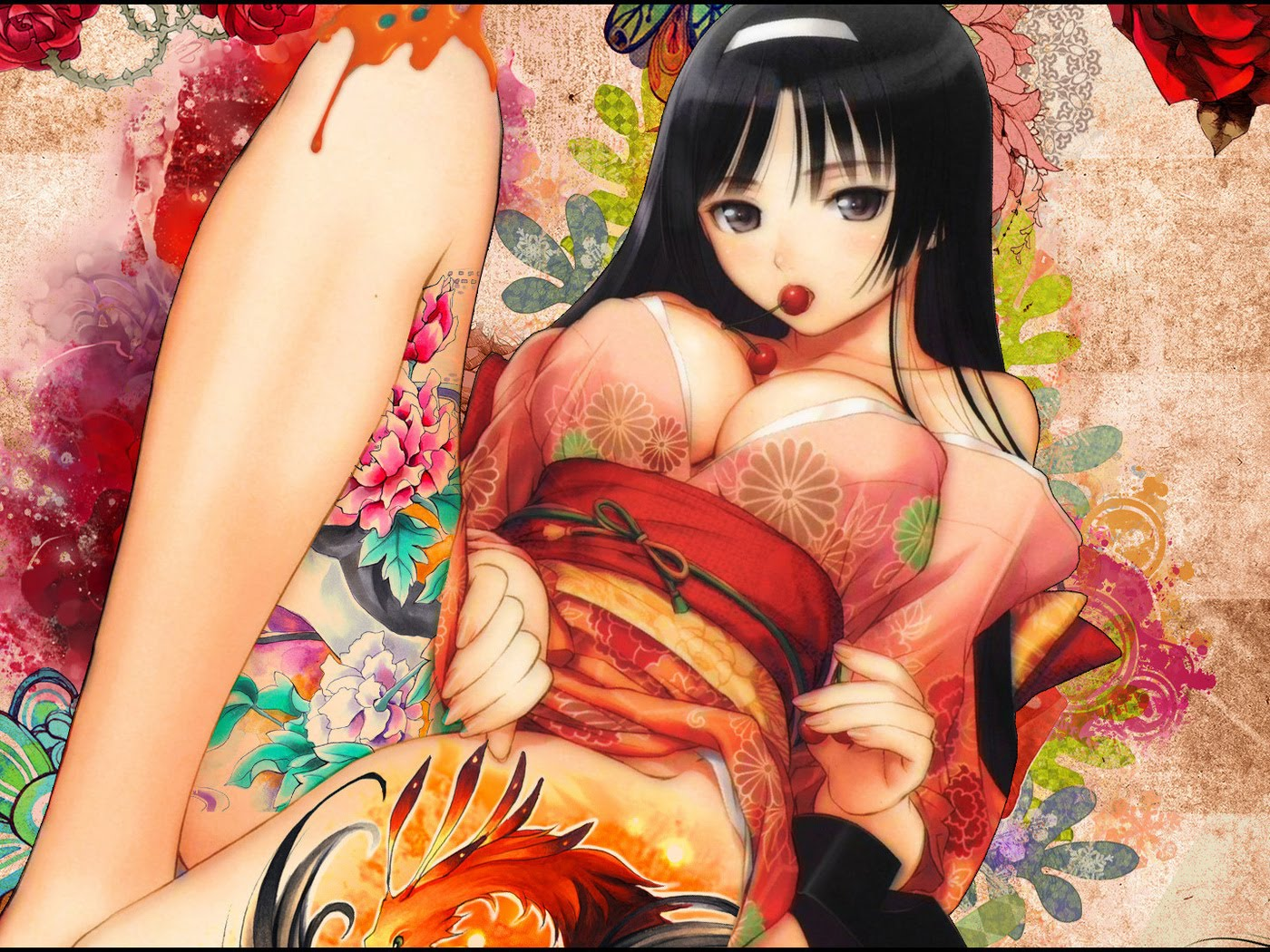 Erotic female anime boobs adult pic
