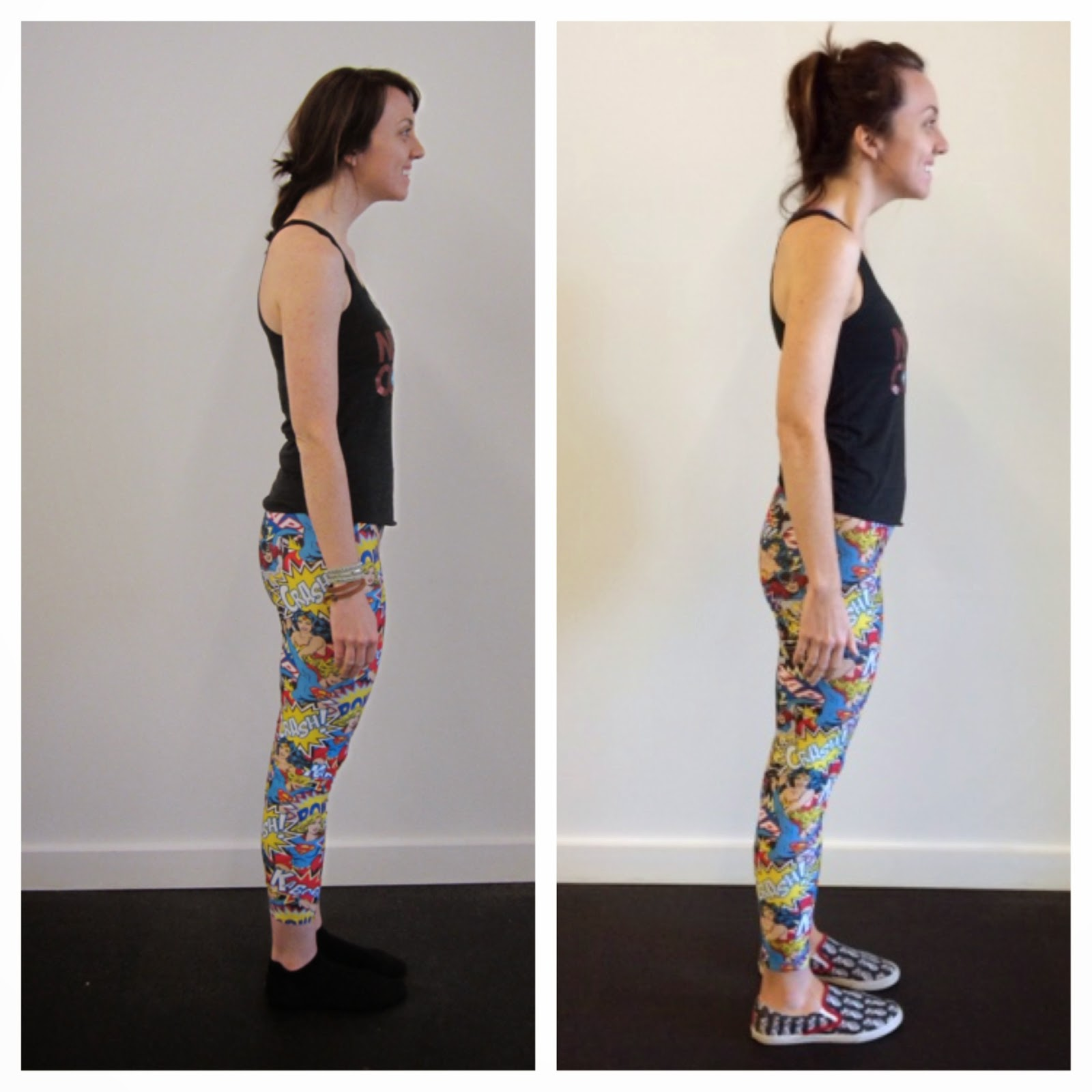 FlyBarre Challenge before and after