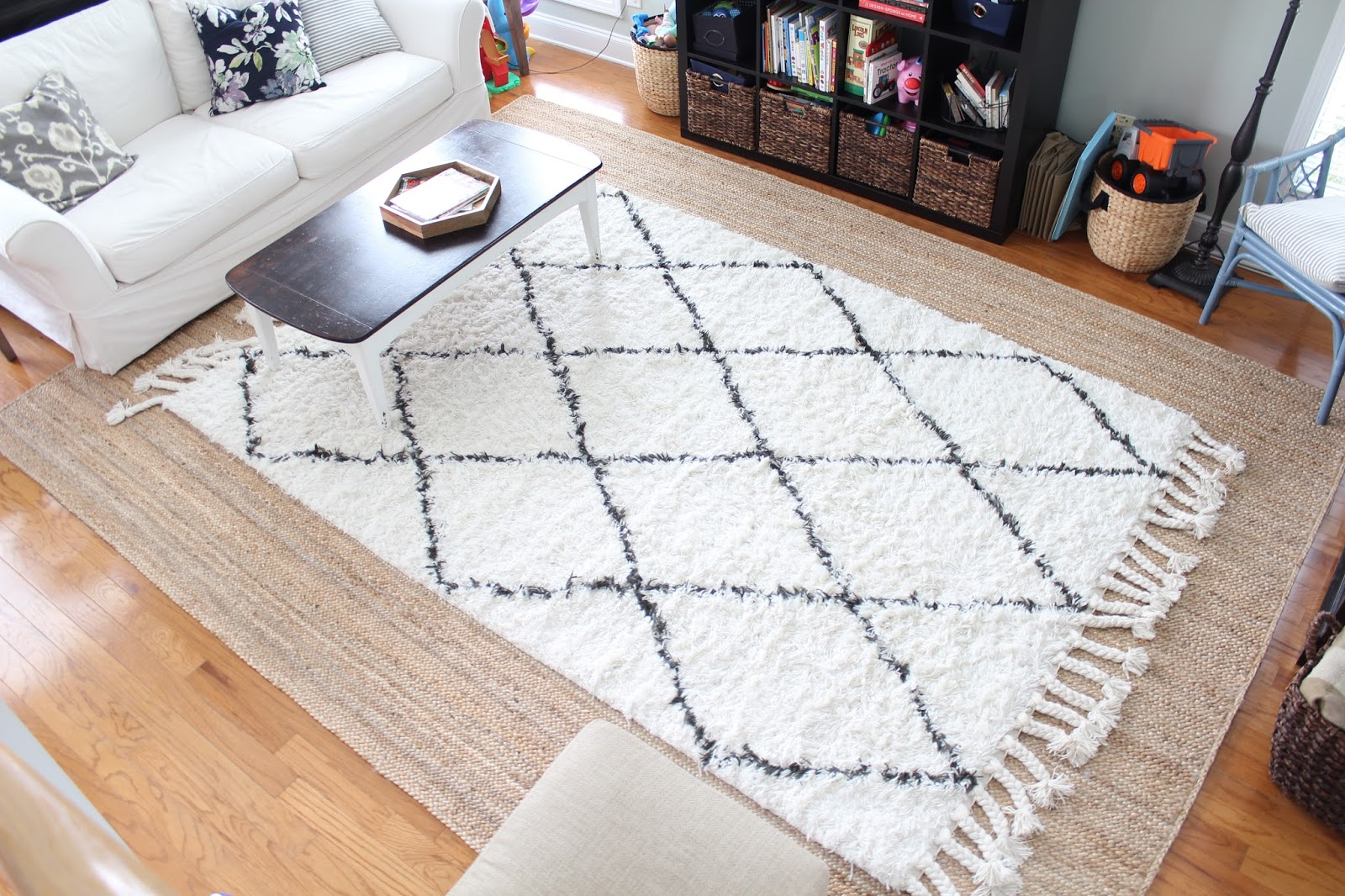 Our New Double Layer Rugs In The Living Room