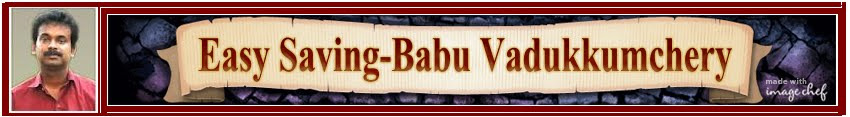 Easy Saving - Babu Vadukkumchery