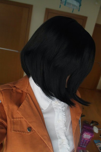 Mikasa Cosplay Wig
