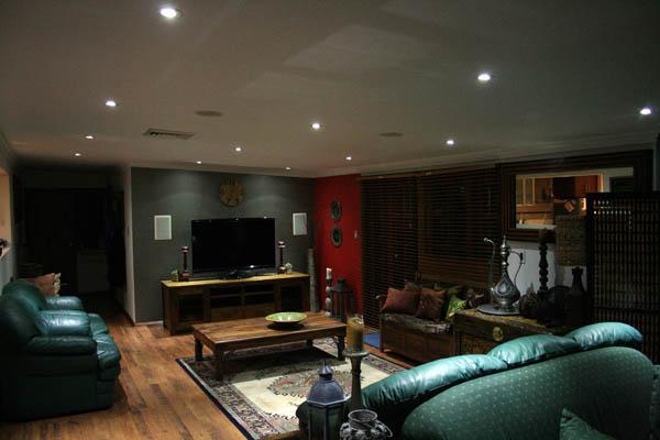 The australian energy saver for Best downlights for living room
