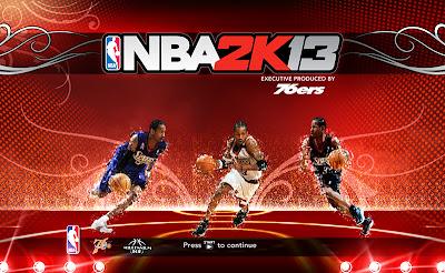 NBA 2K13 Allen Iverson Startup Screen Mod