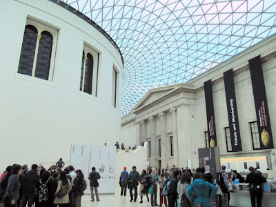 The Great Court with the Reading Room at it's centre