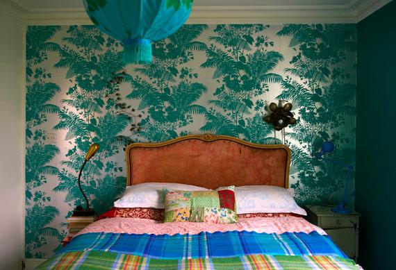 casa grande - de encher os olhos - decoração colorida - decoração em azul