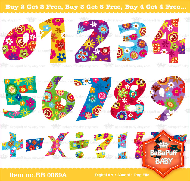 Printable numbers my creative design artwork for Blueprint number