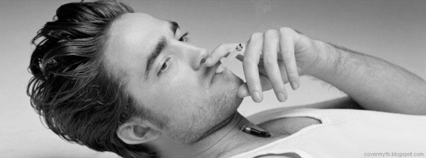 Facebook Cover Of Dashing Robert Pattinson.