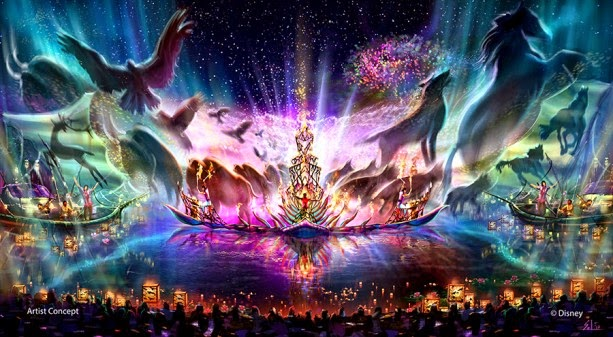 Rivers of Light no Disney's Animal Kingdom em Orlando