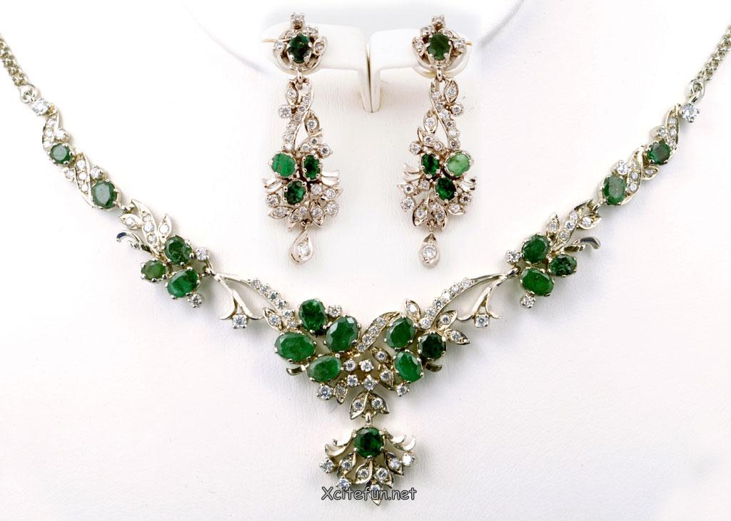 Fancy Emerald Jewelry Collection For Eid 2011