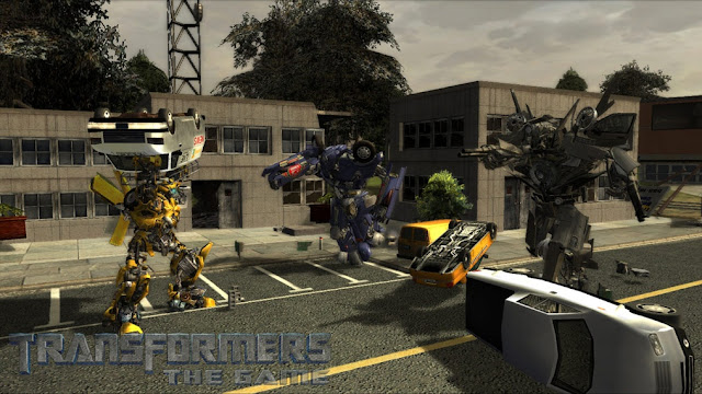 Transformers Le Jeux Screenshot 1