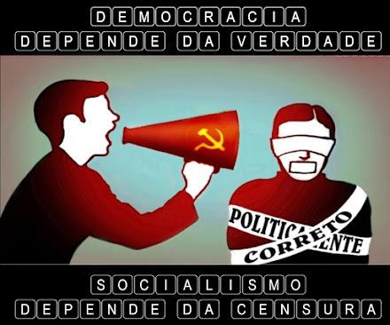 CENSURA OFICIAL DO GOOGLE, FACEBOOK E TWITTER