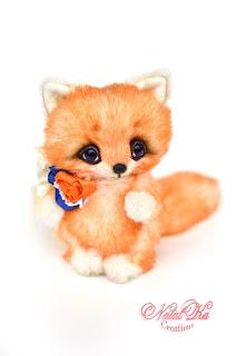Künstlerteddy, Künstlerfuchs, Fuchs, Teddy, Unikat, NatalKa Creations, teddies with charm, artist teddy fox, ooak fox, fox handmade, авторский лесенок, лиса тедди, лис тедди, тедди с шармом