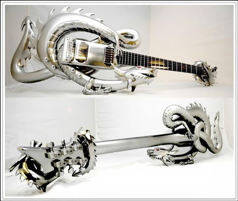 33 Unusual Guitar Designs  Curious Funny Photos  Pictures