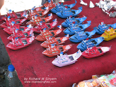 Toy Boats Made From Recycle Tin Cans