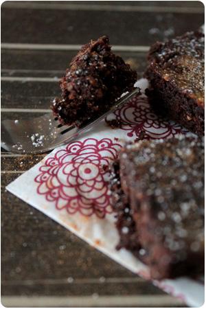 Vegane Erdnuss-Brownies