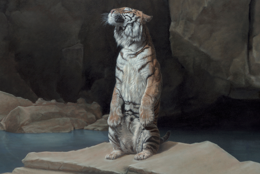 16-The-Other-Side-detail-Joel-Rea-Paintings-of-People-and-Animals-in-Nature-www-designstack-co