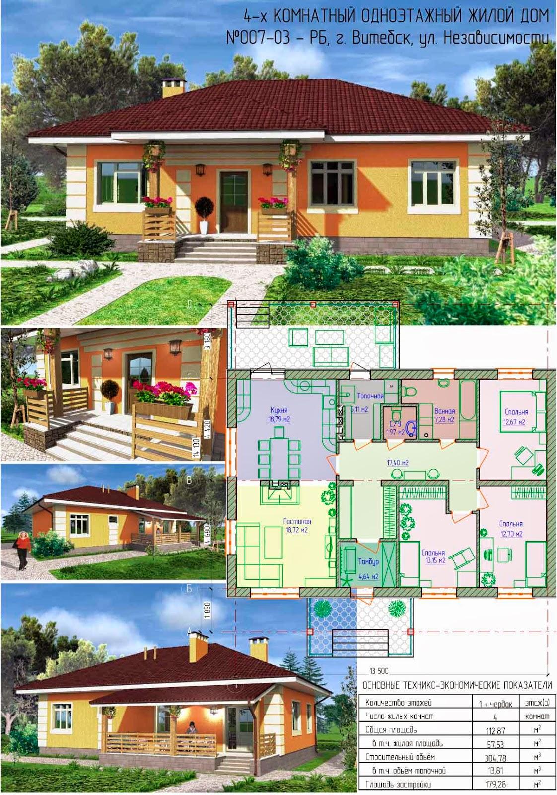 образец готового проекта дома