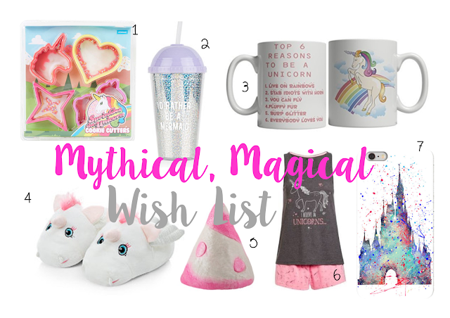 Mythical, Magical Wish List | ACupofT