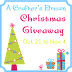 My First Giveaway!  #A Crafter's Dream
