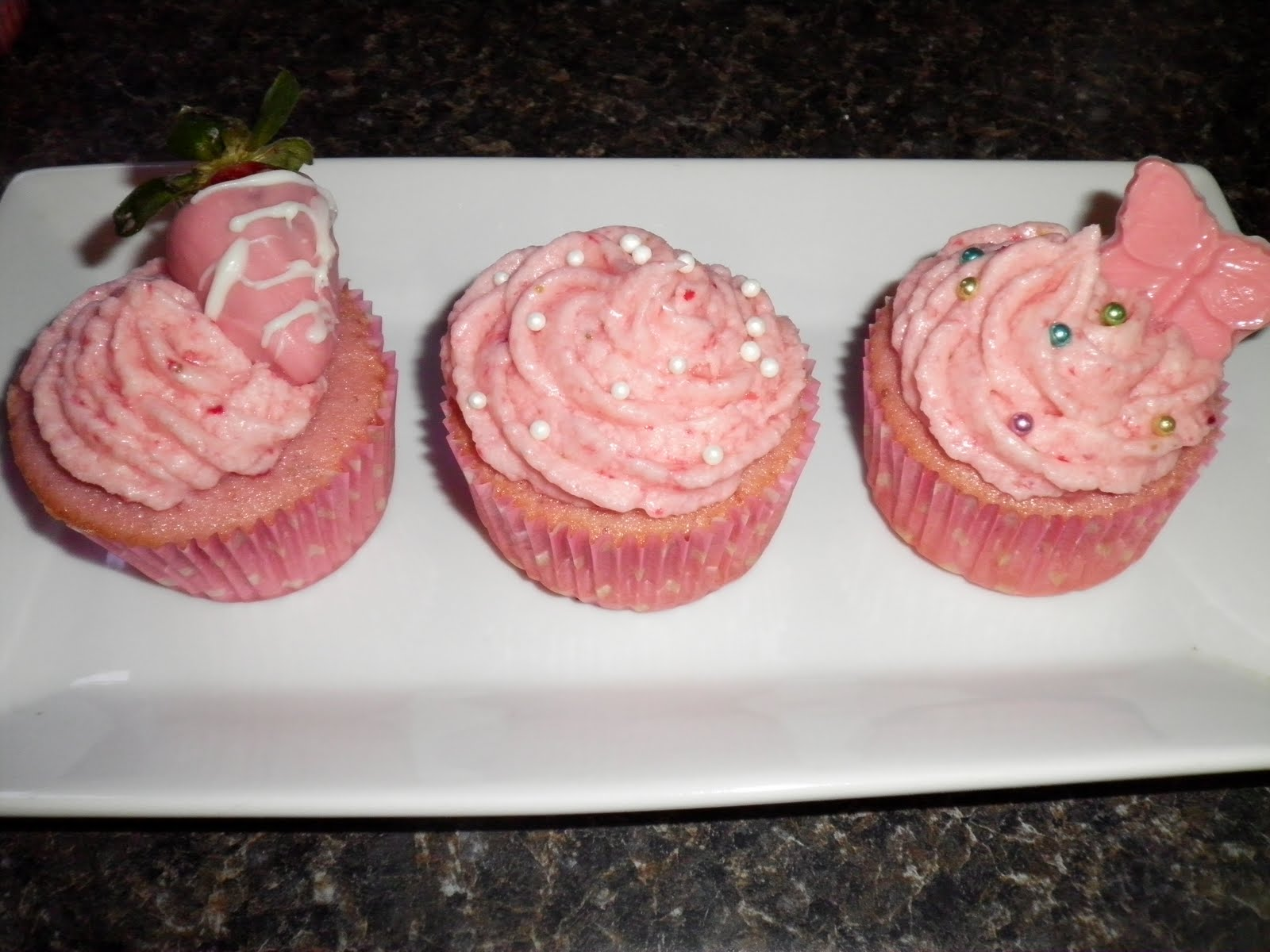 Candy's Confections: Pretty~In~Pink Sprinkles Strawberry ...
