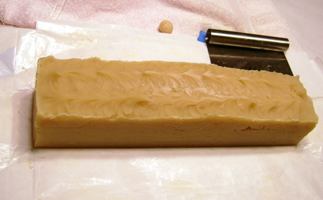 Orange Eucalyptus soap log