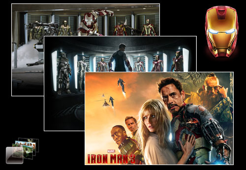 Iron Man 3  Theme for Windows 7