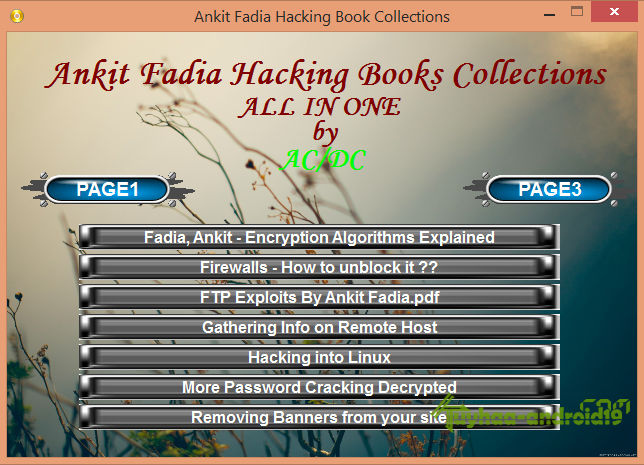 Ankit Fadia Hacking Ebook Collection ( All in One )