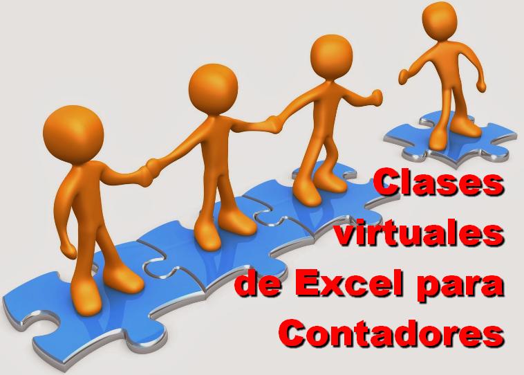 Clases virtuales de Excel para contadores