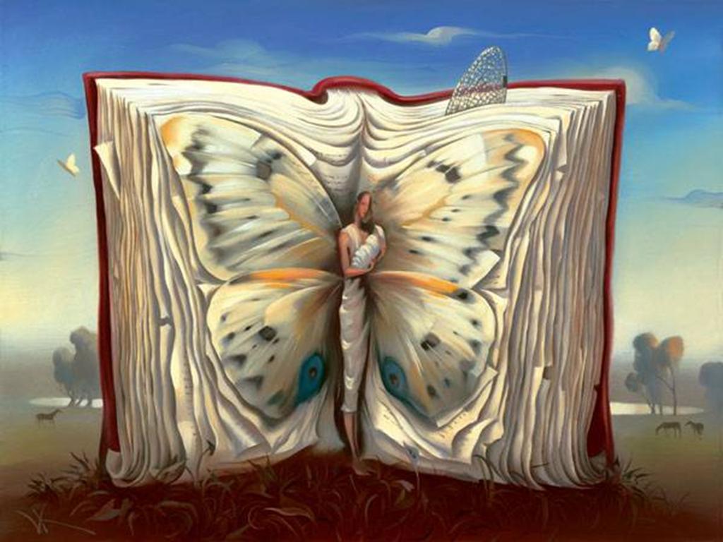 Znalezione obrazy dla zapytania salvador dali motyle