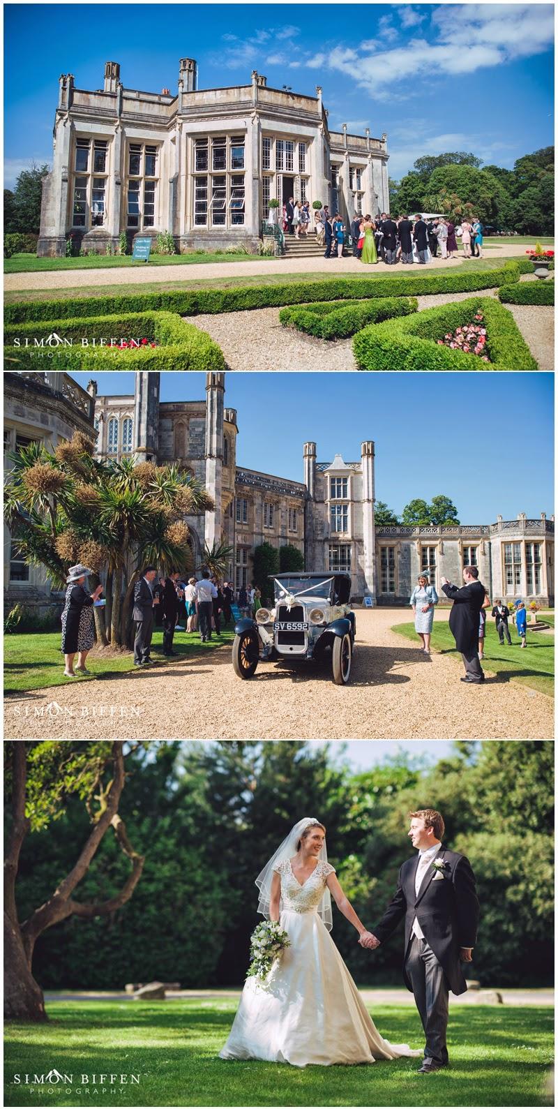Wedding photography Highcliffe Castle