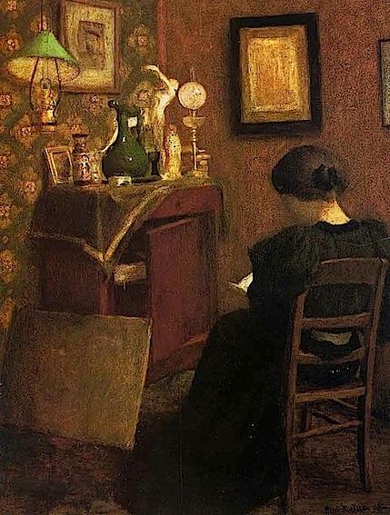 H. Matisse. Femme Lisant, 1894