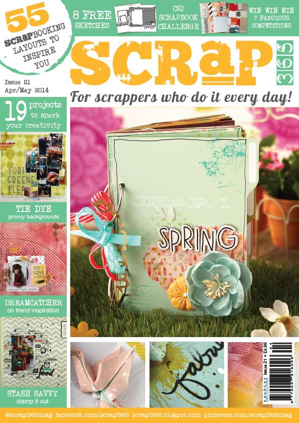 April/May 2014 Issue - 1 article & 2 gallery layouts