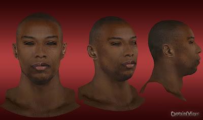 NBA 2K13 Caron Butler Cyberface Mod