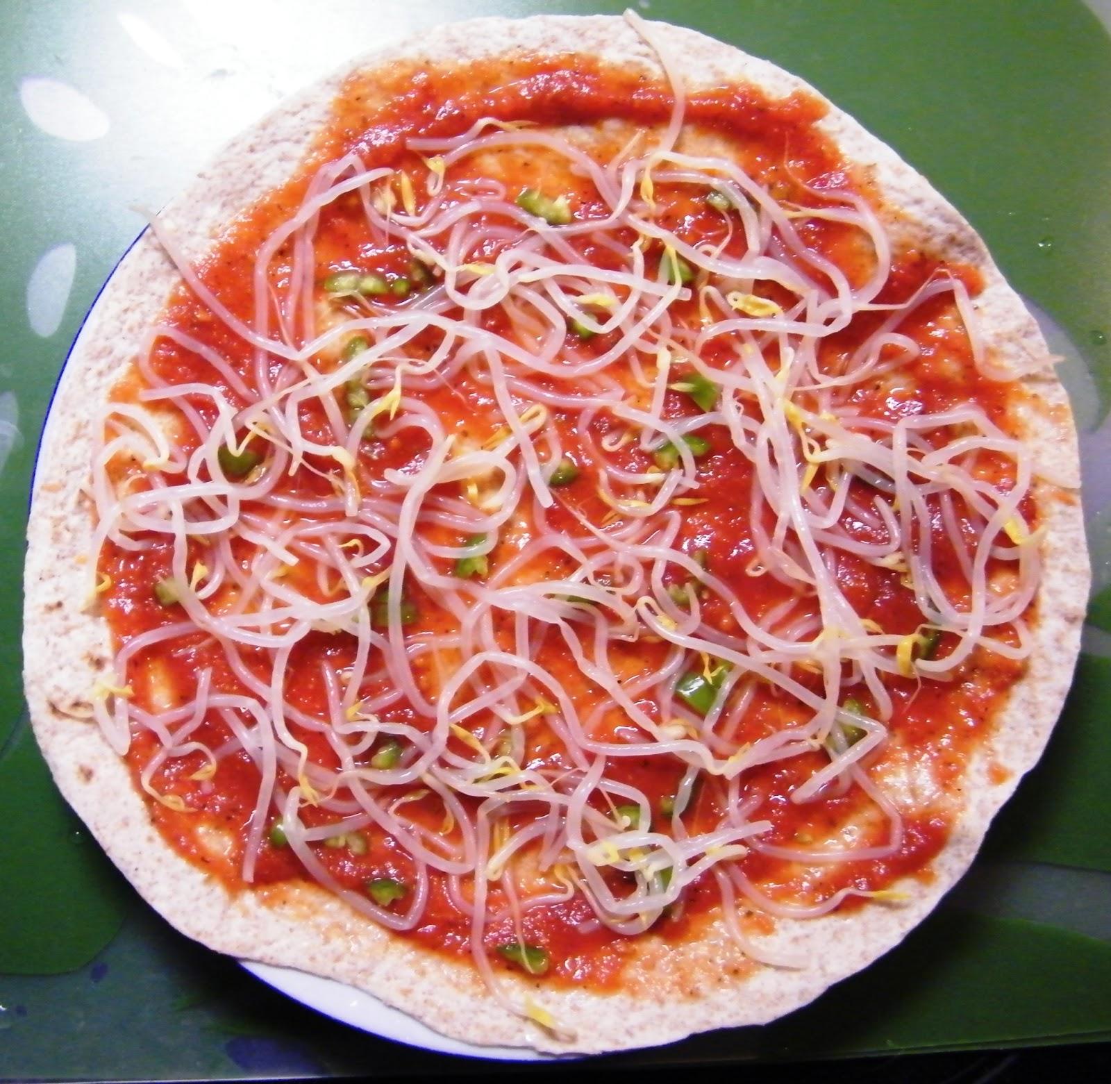 Comer rico y sano: Pizza-burrito