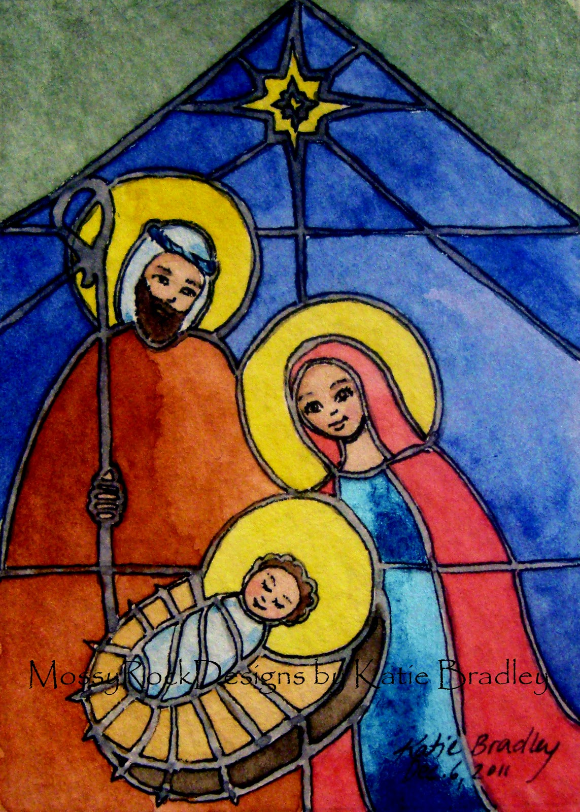 Displaying 19> Images For - Stained Glass Nativity Craft...