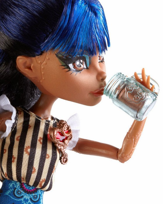 TOYS : JUGUETES - MONSTER HIGH  Coffin Bean - Robecca Steam : Muñeca | Doll  Producto Oficial 2014 | Mattel CBX48 | A partir de 6 años