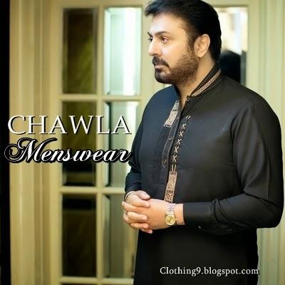 Label chawla fabrics kurta shalwar menswear new designs summer dresses