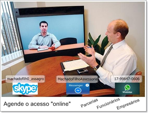 """Machado Filho """"Online"""""""