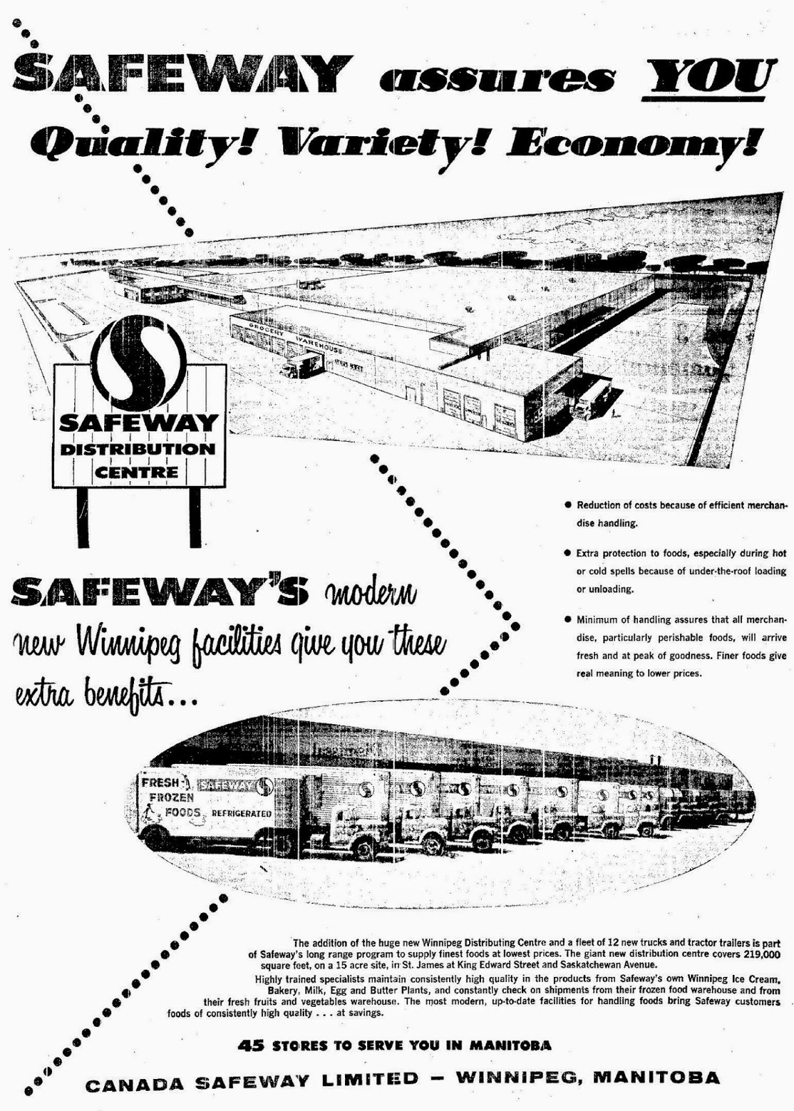 Winnipeg Downtown Places: 1100 King Edward Street - Safeway ...