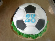 Futbalová lopta- torta