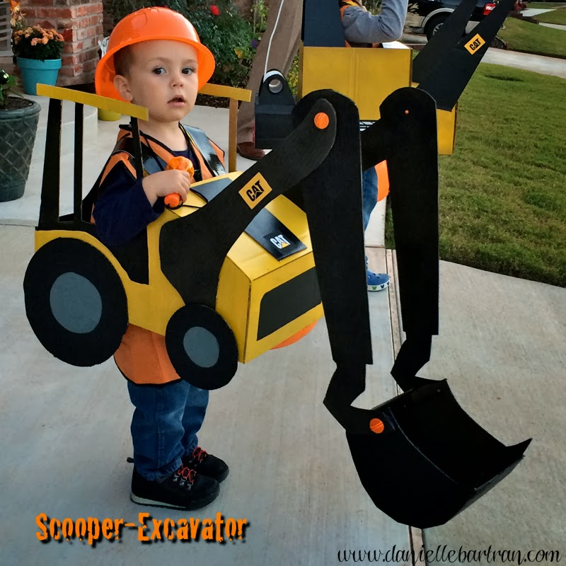 Made happy hallween construction equipment costume for 9 year old boy halloween costume ideas
