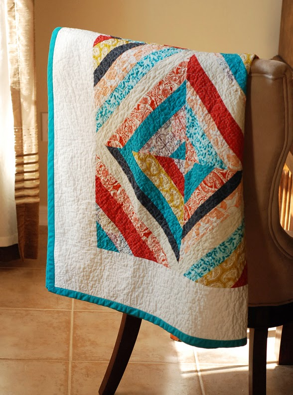 How To Make Bright String Quilt