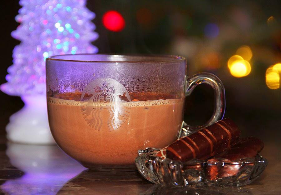 Hot organic cocoa