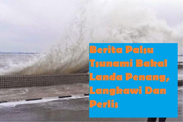Berita Palsu Tsunami