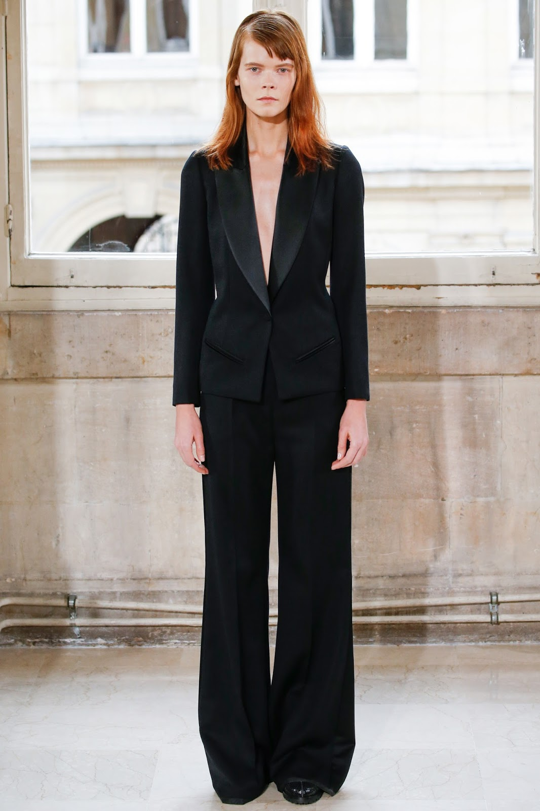 Bouchra Jarrar Spring 2016 Haute Couture Collection No. 13 via www.fashionedbylove.co.uk