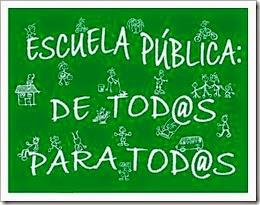 Escuela Pública de to@s y para tod@s
