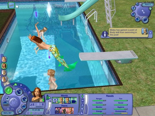 Jagoda 39 s blog my favourite game for Pool design sims 3