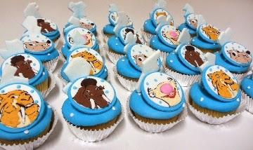 Cupcakes Era del Hielo