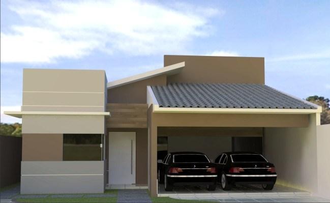 Arquitetura val ria piassi resid ncia com telhado aparente for Aberturas para casas modernas