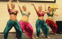 Tamil medley dance by Swedish Girls kalasala kalasala